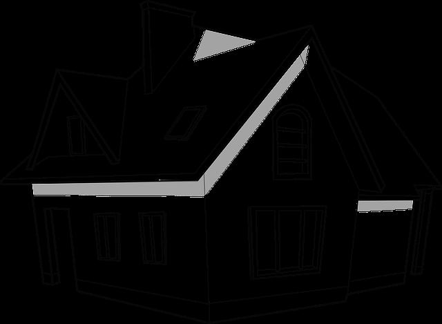 nákres domu, velký dům