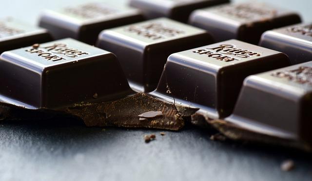 ulomená čokoláda