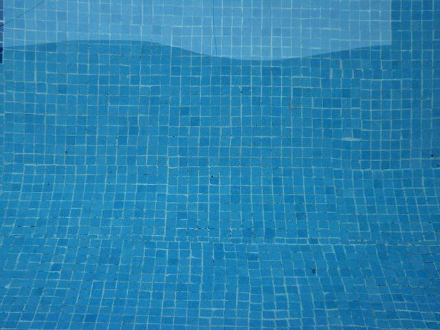 modrý bazén