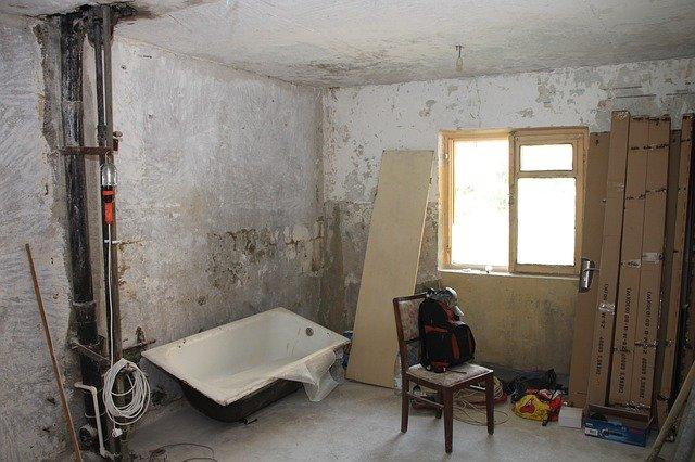 rekontrukce koupelny