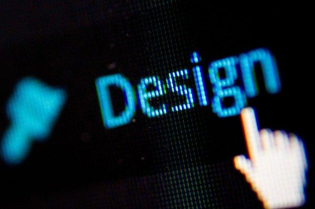 design nad kurzorem