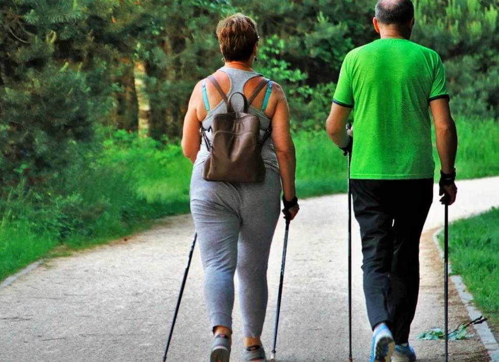 obézní chůze