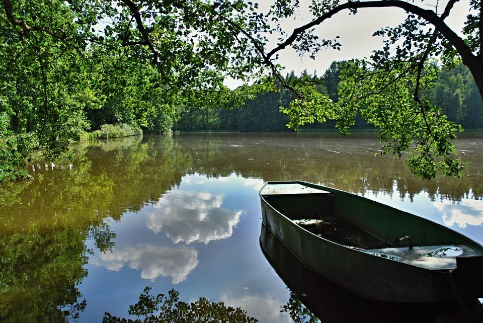 rybník v Jižních Čechách
